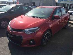 Toyota Corolla CERTIFIÉ S AC MAGS TOIT GARANTIE PEA  2014