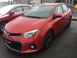 Toyota Corolla CERTIFIÉ S AC VITRES MAGS TOIT OUVRANT  2014