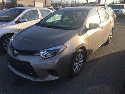 Toyota Corolla CERTIFIÉ LE AC VITRES CAMÉRA RECUL  2014