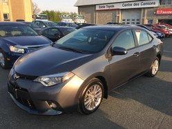 Toyota Corolla CERTIFIÉ LE AC CUIR GPS MAGS TOIT OUVRANT  2014