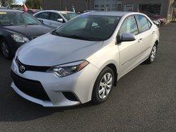 Toyota Corolla LE AC VITRES CRUISE CAMÉRA RECUL  2014