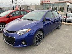 2014 Toyota Corolla S AC VITRES MAGS TOIT  CRUISE CAMÉRA RECUL