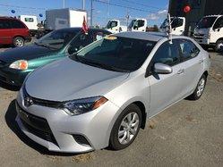 Toyota Corolla LE AC VITRES CRUISE  CAMÉRA RECUL  2015