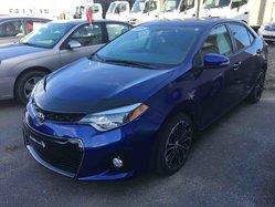 Toyota Corolla CERTIFIÉ S AC VITRES TOIT MAGS  2015