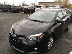 Toyota Corolla CERTIFIÉ S AC VITRES CRUISE CAMÉRA RECUL  2015