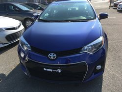 Toyota Corolla CERTIFIÉ S AC VITRES CAMÉRA RECUL  2015