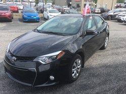 Toyota Corolla CERTIFIÉ S AC VITRES CAMÉRA RECUL  2016