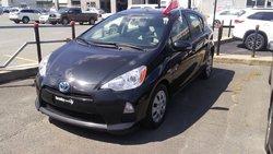 Toyota Prius C Certifié, AC, vitres électriques, cruise  2014