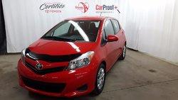 Toyota Yaris HB CERTIFIÉ AC VITRES CRUISE  2014