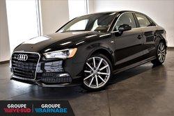 Audi A3 2.0T Quattro Premium+ S-Line+GPS+Bas KM!!!  2016