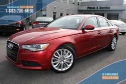 2014 Audi A6 3.0T Technik Toit-Cuir-GPS+++