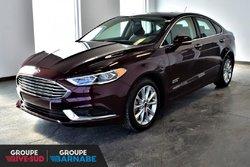 Ford Fusion ENERGI CUIR TOIT+HYBRIDE!!  2018