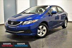 Honda Civic Sedan LX || AUTOMATIQUE || CAMERA DE RECUL ||  2015