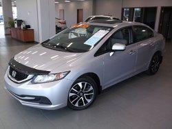 Honda Civic Sedan EX+TOIT OUVRANT+BLUETOOTH+CAMERA+SIÈGES CHAUFFANTS  2015