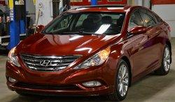 Hyundai Sonata GLS / TOIT OUVRANT / CUIR / SIÈGES CHAUFFANTS  2013