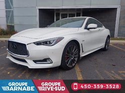 Infiniti Q60 Coupe 400HP RED SPORT ENSEMBLE TECHNOLOGIE  2017