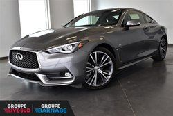 Infiniti Q60 Coupe 2.0T AWD PREMIUM CUIR NAVIGATION  2017