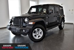 Jeep Wrangler UNLIMITED SPORT S + VEHICULE NEUF + LIQU  2018
