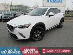 Mazda CX-3 ***GT AWD CUIR TOIT OUVRANT CAMERA DE RECUL ***  2016