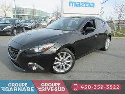 Mazda Mazda3 Sport ***GT CUIR TOIT OUVRANT SIÈGE CHAUFFANT ***  2015