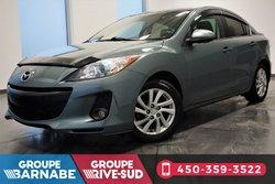 Mazda Mazda3 ***GS-SKY TOIT OUVRANT A/C CUIR ***  2012