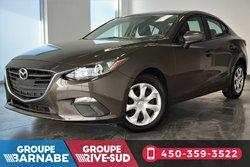 Mazda Mazda3 ***GX A/C CAMERA DE RECUL CRUISE CONTROL ***  2016