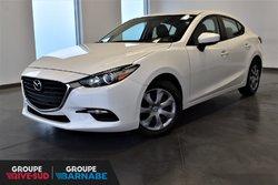 Mazda Mazda3 GX**AUT+BLUETOOTH PNEUS D'HIVER GRATUIT  2017
