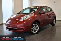 Nissan Leaf SV SIÈGES + VOLANT CHAUFFANT // NAVIGATION //  2015