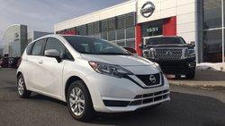 2017 Nissan Versa Note SV + CAMÉRA DE RECUL + SIÈGES CHAUFFANTS + 15 KM