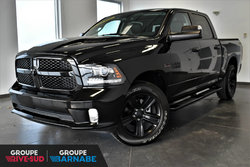 Ram 1500 NIGHT ÉDITION*CREW CAB*ECRAN 8.4PO*ENS.  2018