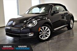 Volkswagen Beetle Convertible COMFORTLINE+CUIR+ECRAN+ALLIAGE+++  2015