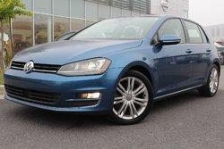 Volkswagen Golf CONFORTLINE+NAV+CUIR+TOIT+COMM. AU VOLANT  2015