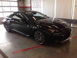 2015 Lexus RC F Série F groupe Performance toit carbon