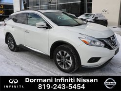 Nissan Murano SV AWD. NISSAN CERTIFIED, RATE FROM 2.49%  2017