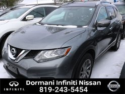 Nissan Rogue SL AWD, LEATHER, GPS, CERTIFIED NISSAN, RATE FROM 2.49%, 6 YEAR 120000KM WARRANTY  2015