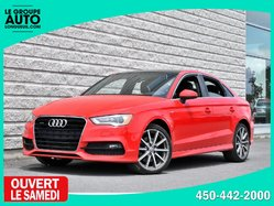 Audi A3 *2.0T*S-LINE*AWD*CUIR*TOIT*42600KM  2015