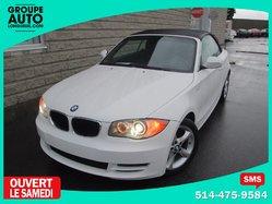 BMW 1 Series 128i*AUTO*CONVERTIBLE*BLANCHE*  2011