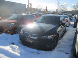 BMW 3 Series 328XI*AWD*MANUELLE*NOIR SUR NOIR*TOIT*  2007