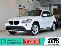 2012 BMW X1 XDRIVE * RESERVER * PANO * CUIR * BLUETOOTH *