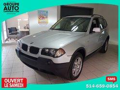 BMW X3 2.5i TOIT PANO AWD (4X4) MAGS  2006