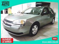 Chevrolet Malibu LS v-6 3.5 LITRES * A/C * MAGS *  2005