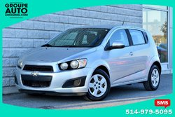 Chevrolet Sonic *LS*AUTOM*A/C*HATCHBACK*SILVER*  2014