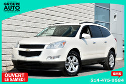 Chevrolet Traverse 1LT*AUTOM*8 PASSAGERS*DVD*BLANC PERLE*TRES PROPRE*  2011