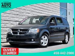 Dodge Grand Caravan *CREW+*CUIR*NAVI*NOIR*CAMERA*  2012