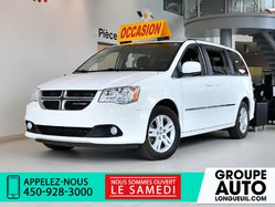 Dodge Grand Caravan CREW * CUIR * STOW N GO * 7 PLACES * GR ELECT *  2015