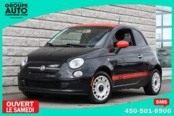 Fiat 500 *AUTOM*A/C*NOIR*INT 2 TONS*BAS KILO*  2012