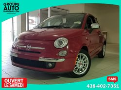 Fiat 500 / LOUNGE / TOIT SUN VISION / MAGS / BLUETOOTH /  2012