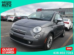 Fiat 500 / LOUNGE / TOIT PANO / CUIR / BLUETOOTH /  2012