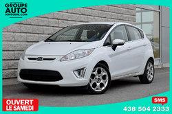 Ford Fiesta *SES*HATCHBACK*AUTOM*CUIR*TOIT*BLANC*  2011