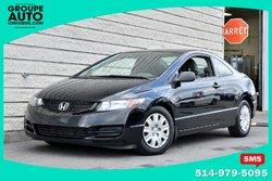 Honda Civic Cpe *NOIR*MANUELLE*GR ELECT.*BAS KILO*  2010